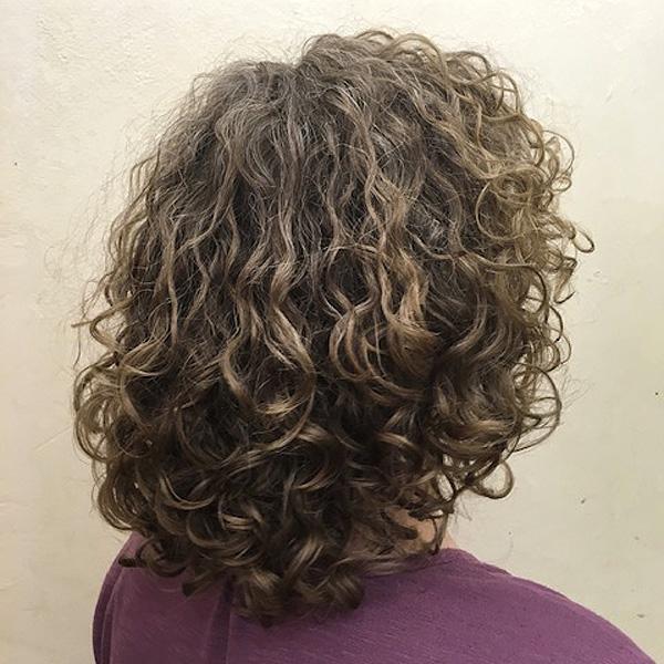 Nach dem Curlsys Haarschnitt